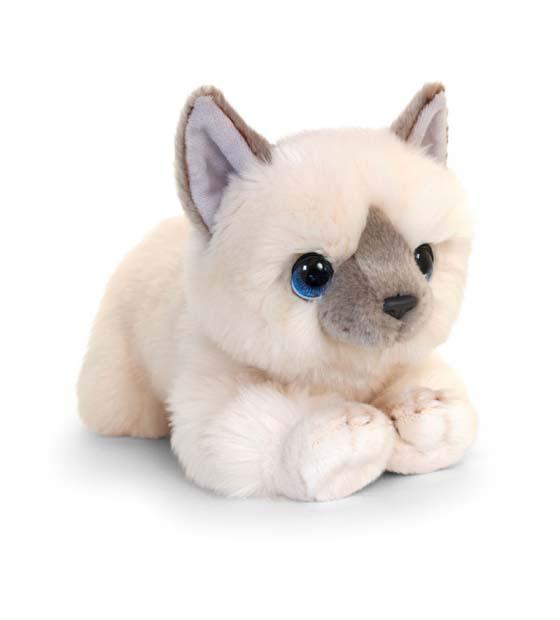 32cm Signature Cream Cuddle Kitten