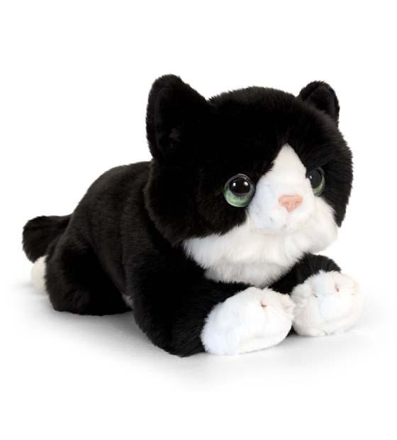 32cm Signature Black Cuddle Kitten