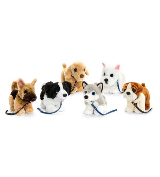 33cm Signature Cuddle Puppy on Lead - Mix 1