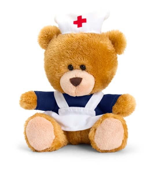 14cm Pipp the Bear Nurse