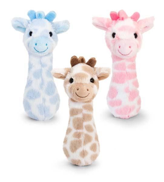 15cm Snuggle Giraffe Rattle