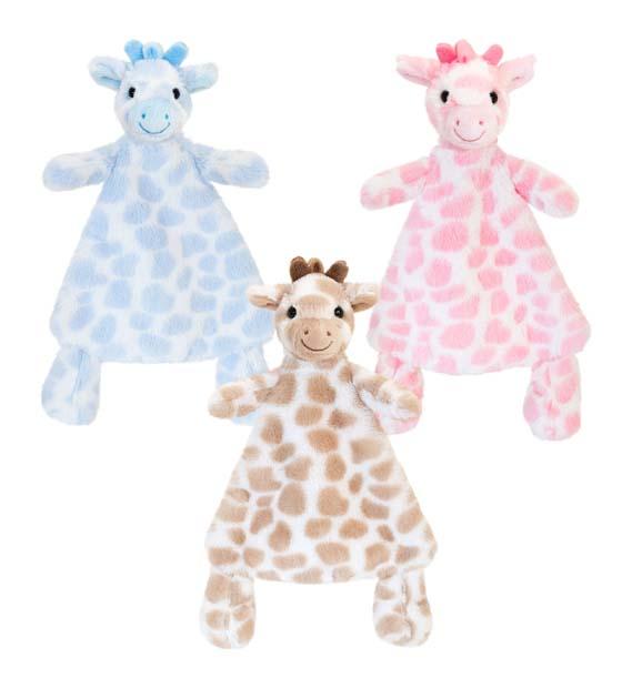 25cm Snuggle Giraffe Blanket